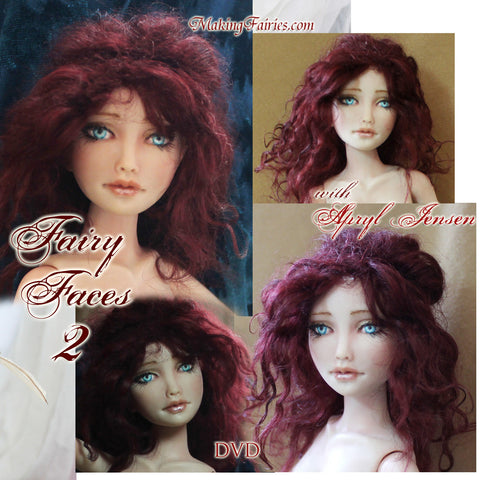 Sculpting Fairy Faces 2 - DVD