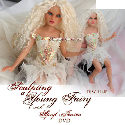 Sculpting a Young Fairy (2 DVDs)