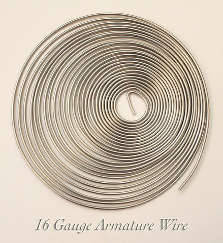 Armature Wire -  16 gauge Aluminum