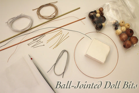 Ball-Jointed Doll Bits & Pieces Kit