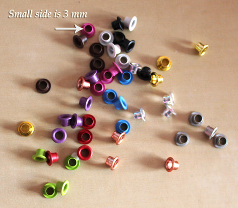 Eyelets - Assorted Colors