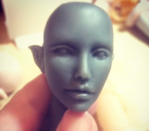 Phoenix Doll: Head Sculpting Reference with DVD this week!