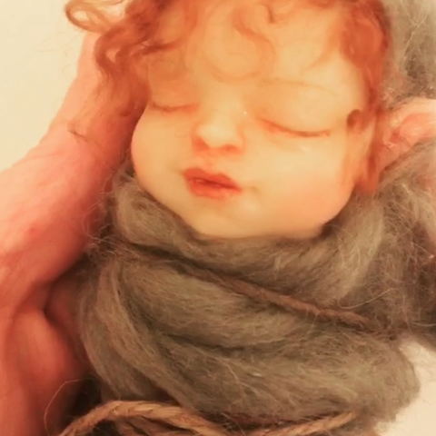 Molding & Casting a Swaddle Fairy Baby DVD with optional Resin Model and bonus Sculpting Videos