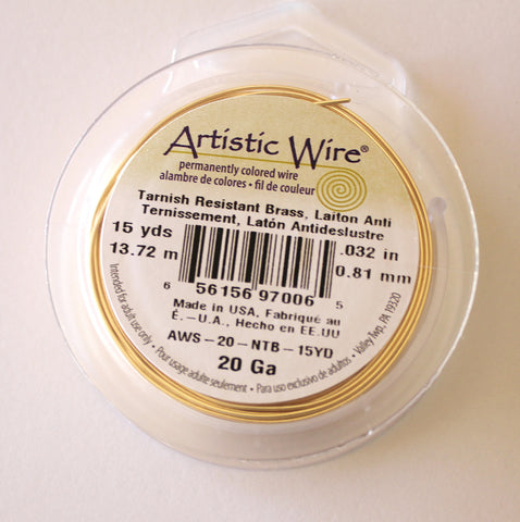 Gold-Colored Wire - 20 Gauge