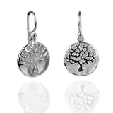 Sterling Silver Harmony Tree Earrings