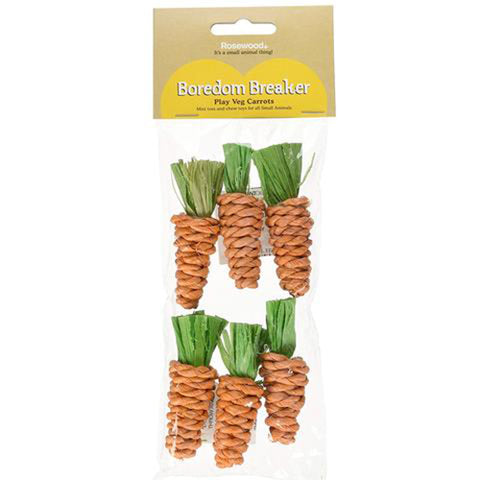 Mini Sisal Carrots Toy