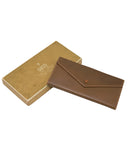 Brown Unused Leather Wallet