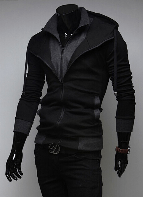 Assassin Double Layer Zip Hoodie - Hoodies - eDealRetail - 6