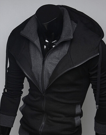 Assassin Double Layer Zip Hoodie - Hoodies - eDealRetail - 5
