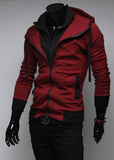 Assassin Double Layer Zip Hoodie - Hoodies - eDealRetail - 3