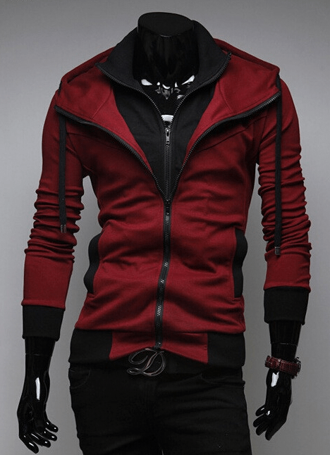 Assassin Double Layer Zip Hoodie - Hoodies - eDealRetail - 4