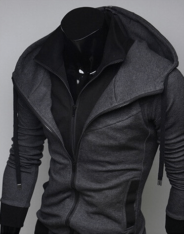 Assassin Double Layer Zip Hoodie - Hoodies - eDealRetail - 11