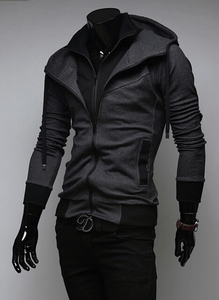 Assassin Double Layer Zip Hoodie - Hoodies - eDealRetail - 12