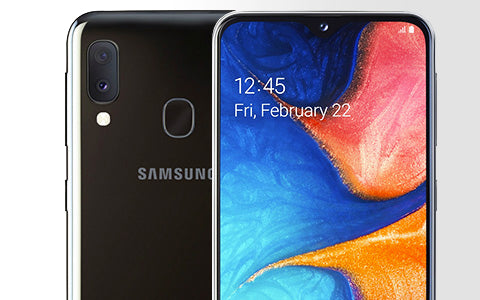 Samsung Galaxy A20 Repair Banner