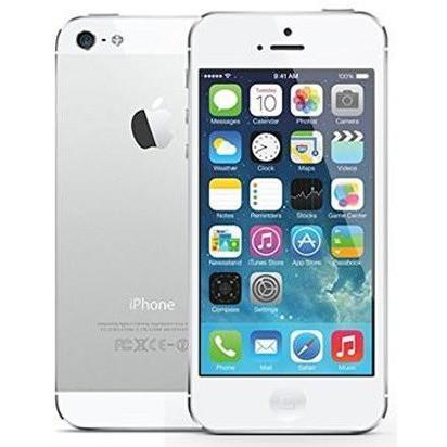 Apple iPhone 5 - White / Silver - (16GB) - Unlocked - Good Condition