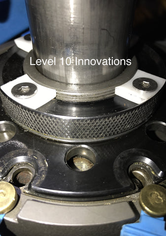 Ultra-Ultra-Low Profile Shellplate Retaining Screws for Dillon 1050 Presses