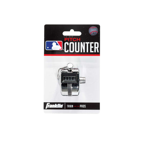 Franklin Sports MLB Pitch Counter - Baseball Accessories, Softball Accessories - Hit A Double - 1