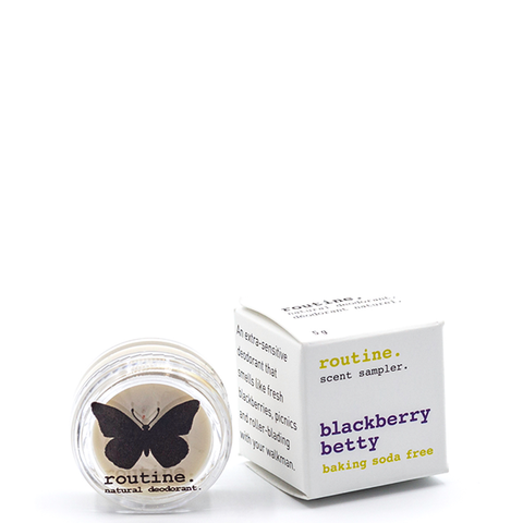 Baking Soda Free Cream Deodorant  - Blackberry Betty