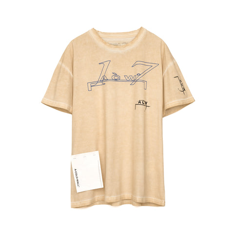 A-COLD-WALL* Leavers T-Shirt Pale Tan