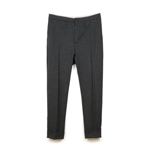 Hope Law Trousers Grey Check