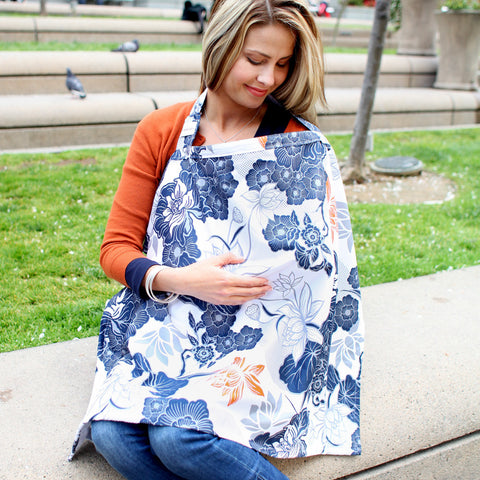Bebe Au Lait Nursing Or Breast Feeding Cover, Katori - mumsbuddy.com