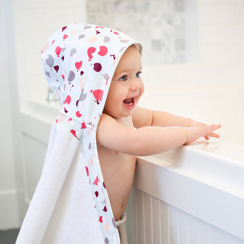 Hot Air Balloons Boy Hooded Towel - mumsbuddy.com