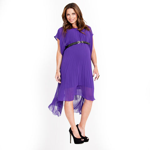 Maternity Or Pregnancy Party Dress, Belt Potion Style - mumsbuddy.com