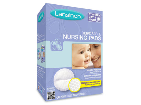 Lansinoh Disposable Nursing Pads Online India - mumsbuddy.com