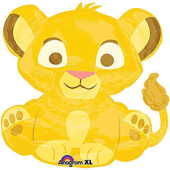 Baby Simba Lion Balloon ,Baby Shower, Birth Announcement - mumsbuddy.com