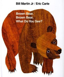 Brown Bear, Brown Bear, What Do You See? - Martin Jr. Bill Board Picture Book - mumsbuddy.com