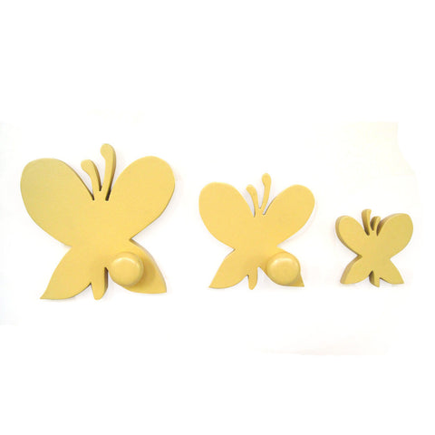 Butterfly Pegs Or Knobs For Kids Room Or Bathroom - mumsbuddy.com