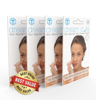 DREAM DOTS ACNE PATCHES - BUNDLE ( BUY 8 PACKS AND GET 2 FREE )