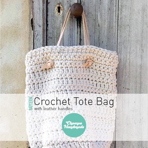 PATTERN - Crochet Tote Bag - English/Castellano