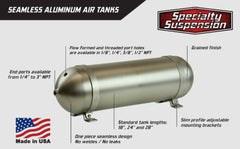 Seamless Aluminium 5 gallon Air Tank