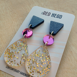 Limited edition studded peardrops