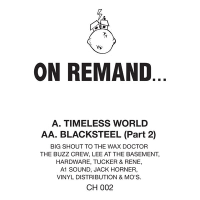 On Remand... - Timeless World / Blacksteel (Part 2) [Official Reissue]