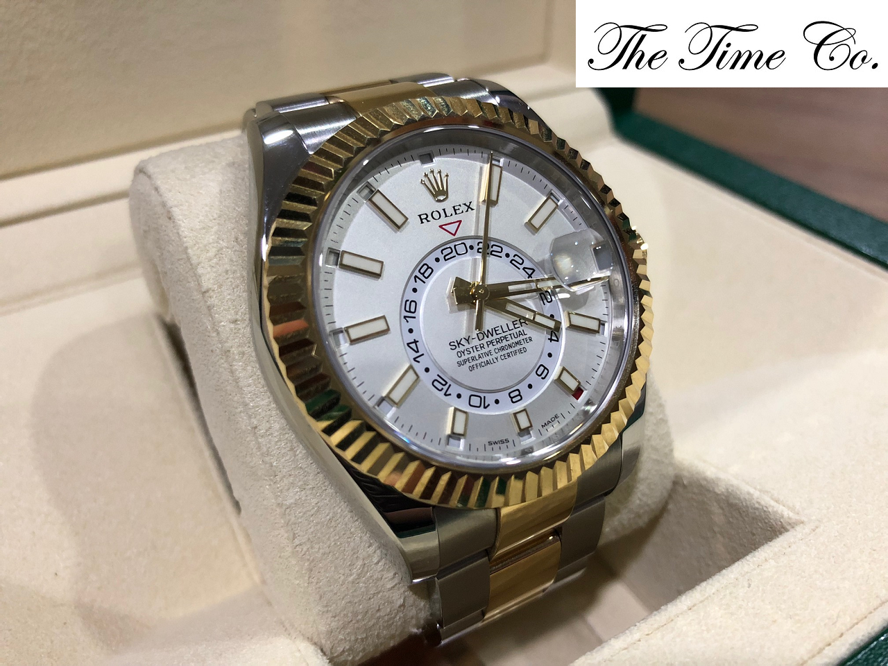 -SOLD- Rolex Sky Dweller Two Toned 326933