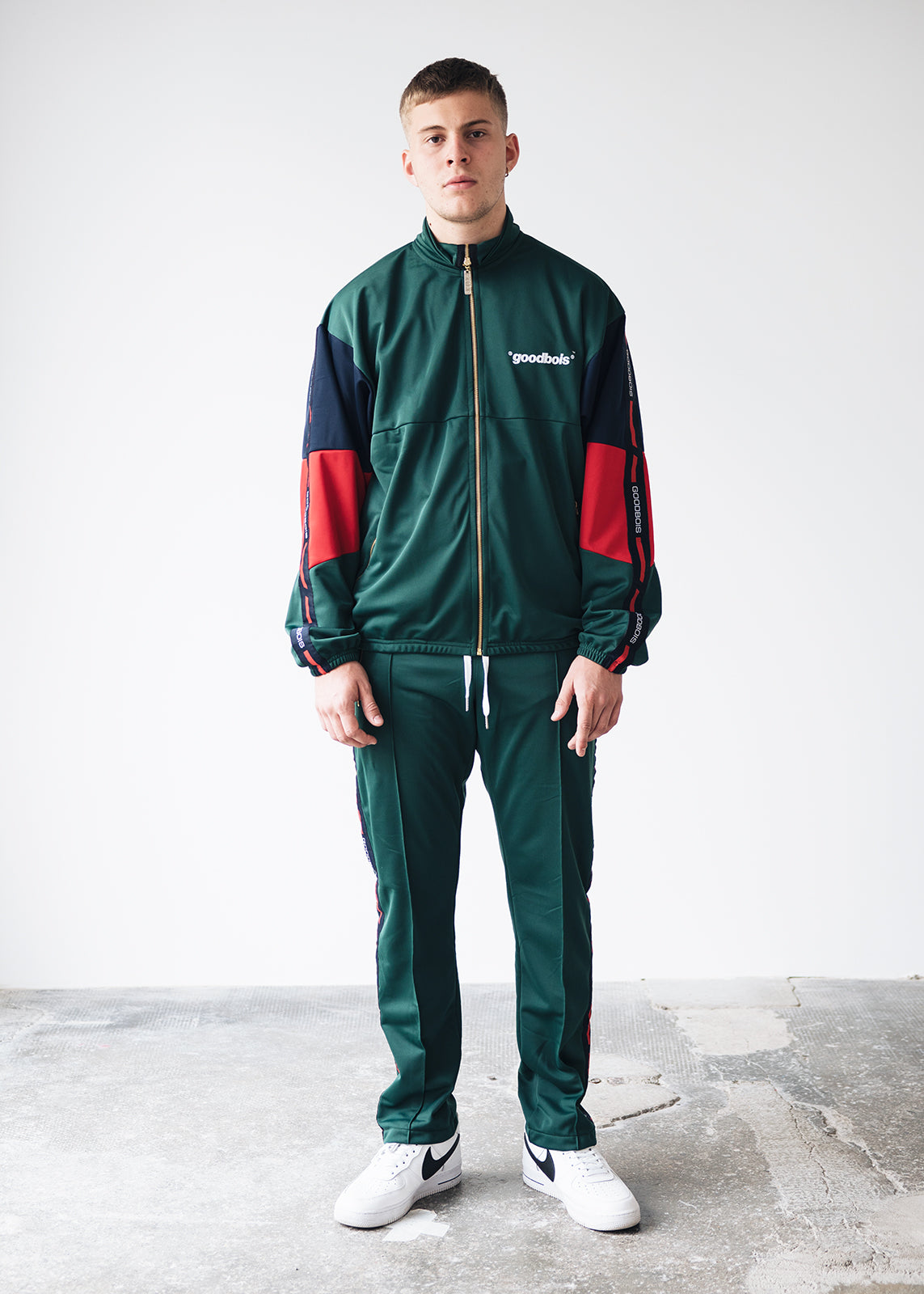 OFFICIAL TRACK PANTS GRN