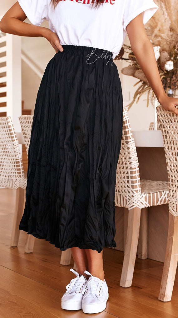 Amaranth Skirt - Black