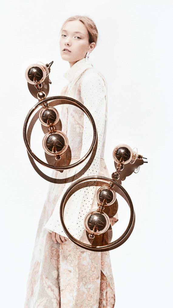 Kris Earrings - Gold