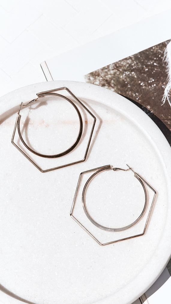 Kylie Earrings - Gold