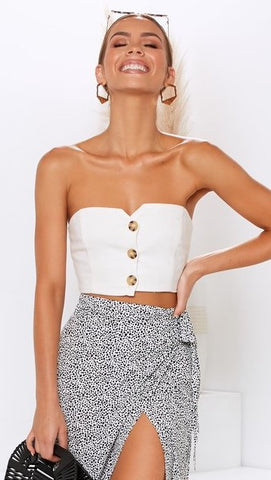 Hunny Top - White