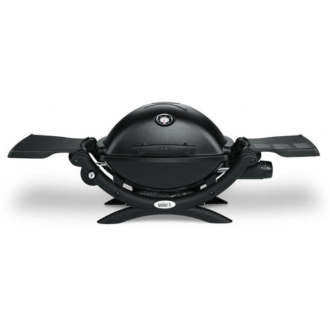 Weber Q 1200 Portable Propane Gas Grill - Black
