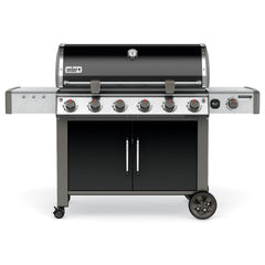 Weber Genesis II LX E-640 Freestanding Natural Gas Grill - Black