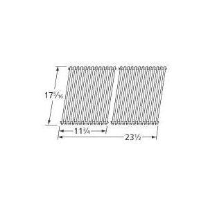Porcelain Coated Steel Wire Rectangle Cooking Grid 538S2