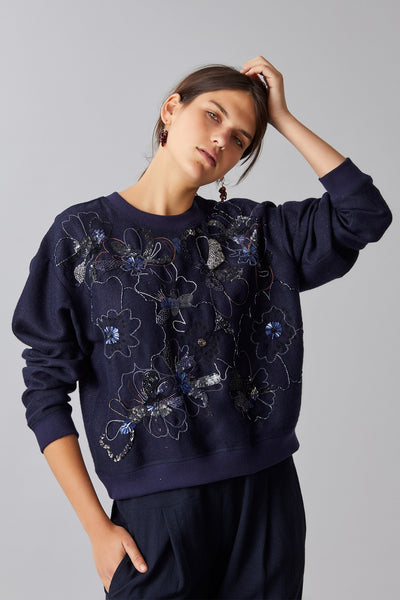 AGNES WOOL SWEATSHIRT
