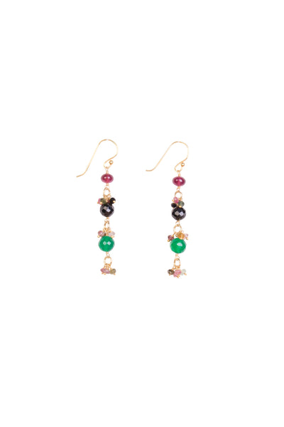GEM DROPLET EARRING