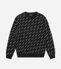 NICCE Mens All Over Print Sweat | Black, Sweatshirts