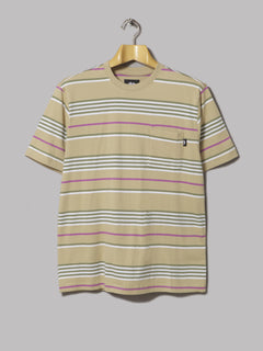 Levi's Set-In Sunset Pocket Tee (Stripe Dress Blues / Lychee)