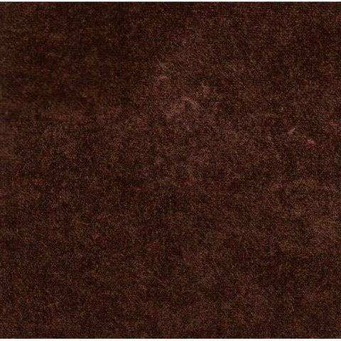 Pastiche Crushed Velvet Collection: Plain Brown - SR18062